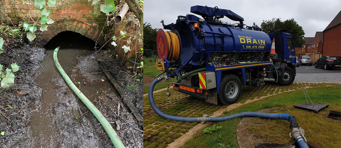 GULLY CESSPIT AND SEPTIC TANK EMPTYING