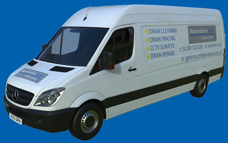 Warwickshire Drain Services Van